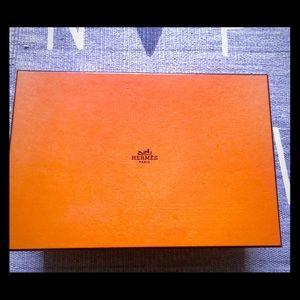 Hermes shoe box